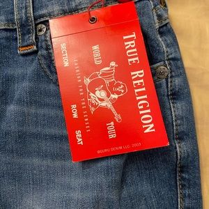 True Religion Ricky Relaxed Straight with Flap